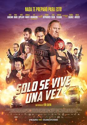 Sólo Se Vive Una Vez 2017 DVD R2 PAL Latino