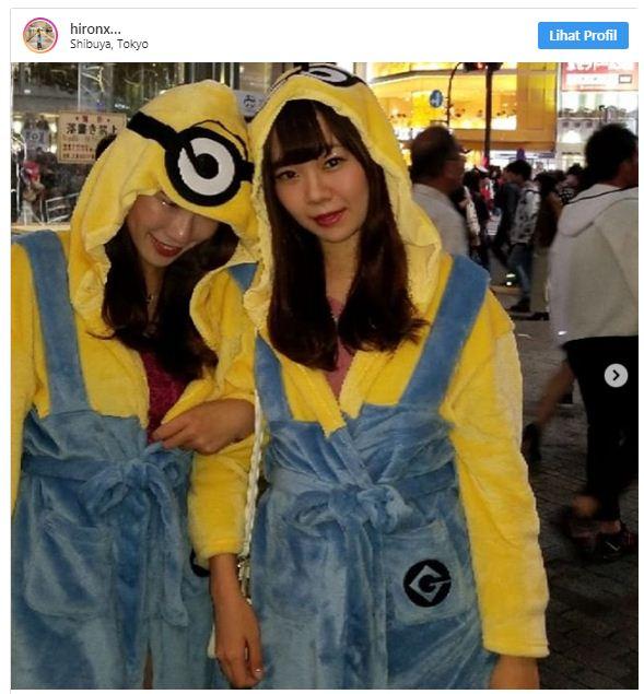 20 Kostum Halloween di Shibuya yang Banjir Wanita: Bikin Pria Tegang dan Menelan Ludah!