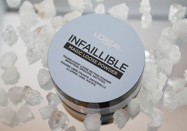 L'oréal Infaillible Magic Loose Powder.
