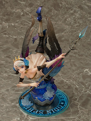 "Gwendolyn Winged Maiden Warrior (Valkyrie) 1/8 de ""Odin Sphere""- Aquamarine"