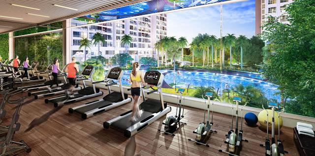 Không gian tập Gym