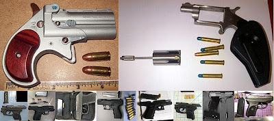 (L-R / Top to Bottom) Guns Discovered at MYR, ATL, AUS, BNA, CLT, LYH, PBI, PDX, PHX, SMF