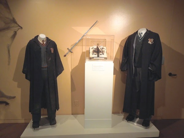 Harry Potter Chamber of Secrets movie costumes props