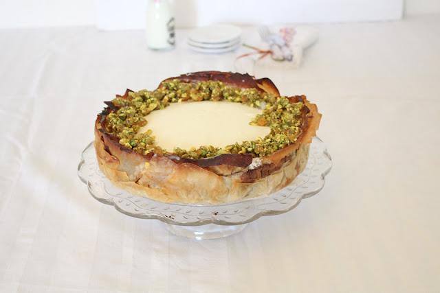 IMG 3351 - עוגת גבינה בעלי פילו