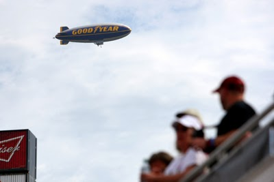 "After 14 years of filling the skies, the ""Spirit of Goodyear"" airship retired after the Daytona 500."