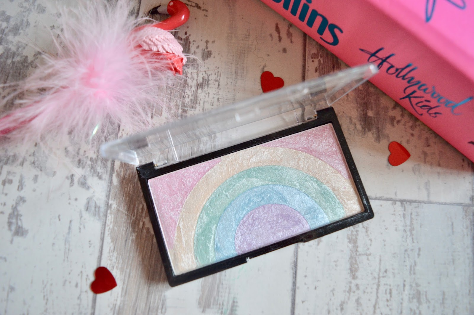 makeup revolution rainbow highlighter review