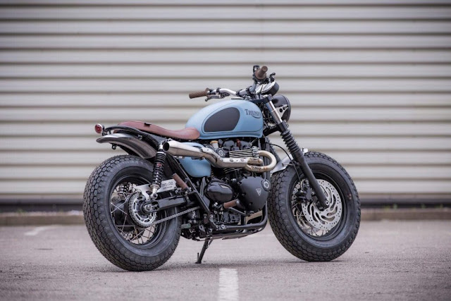 Triumph Bonneville T120 By Down & Out Cafe Racers Hell Kustom