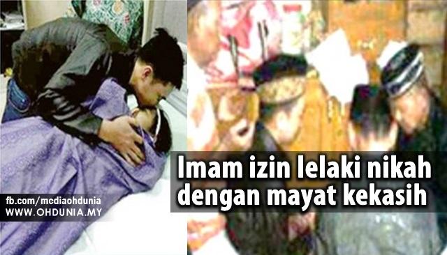 Imam Izinkan Mualaf Berkahwin Dengan Mayat Teman Wanita Bunuh diri