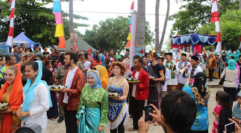 tidung festival akan menarik pesona wisata pulau tidung