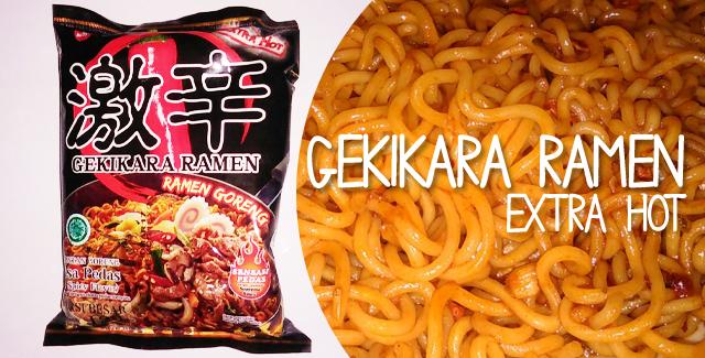 Gekikara Ramen Goreng - Extra Hot
