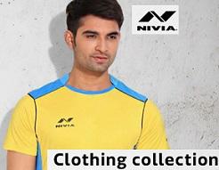 Flat 30% Off on Nivia Men's Clothing (Sports Wear, Winter Wear, Cargo, Shorts) @ Flipkart