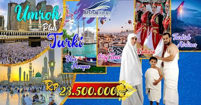 Paket Umroh plus Turki Januari 2019