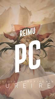 Reimu - Touhou Wallpaper