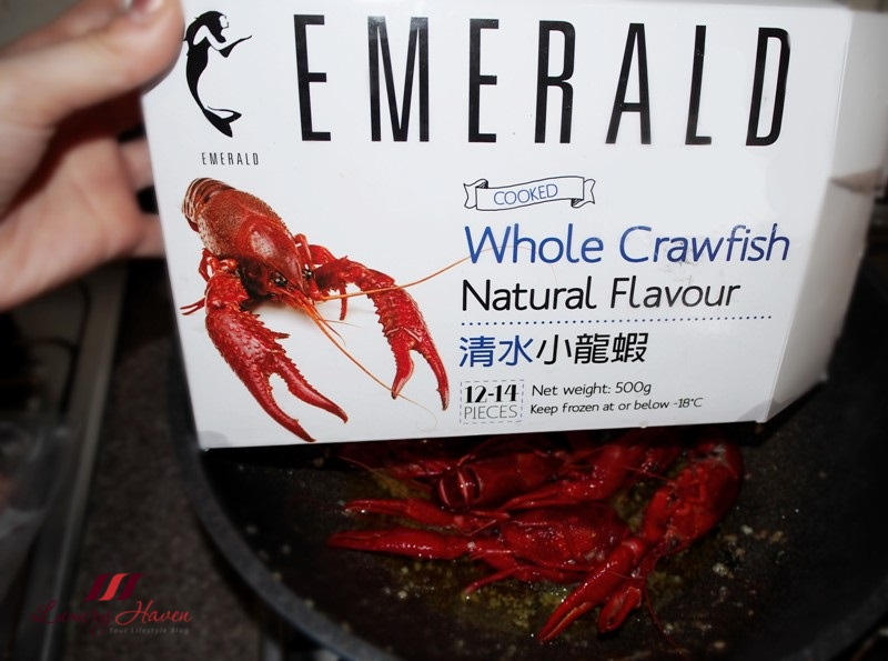 emerald whole crawfish baby lobsters recipe