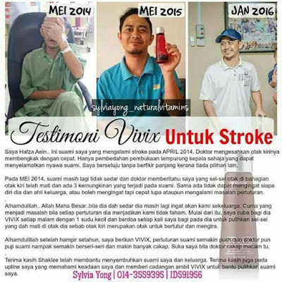 Testimonial Vivix untuk Stroke