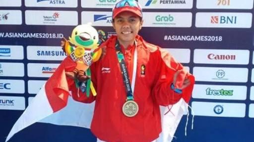 Atlet Dayung Jambi Ini Kembali Merebut Medali di Asian Games 2018