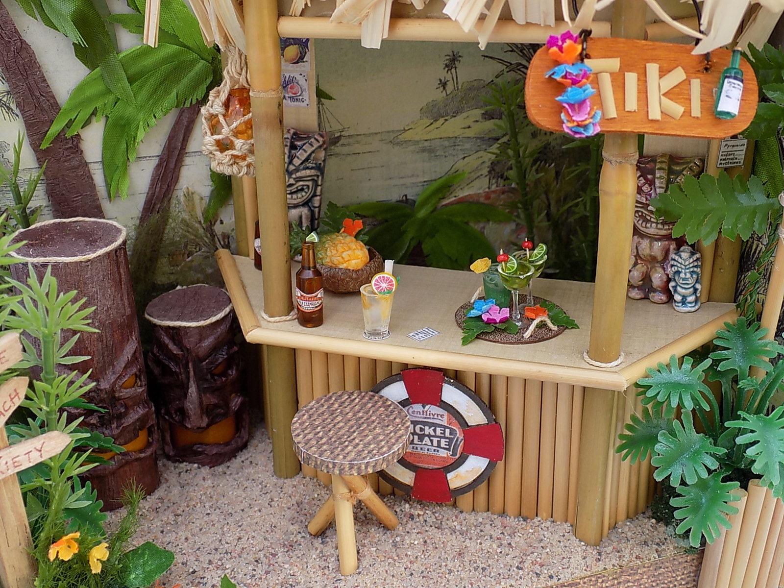 How To Make A Miniature Beach Hut