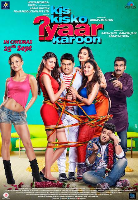 Kis Kisko Pyaar Karoon (2015) Movie Poster