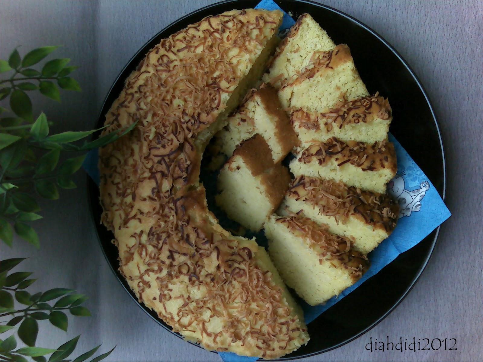Resep Cake Pisang Diah Didi