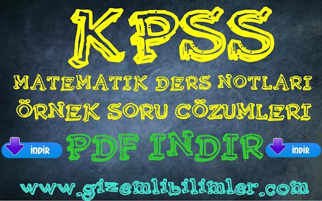 KpssDersNotları