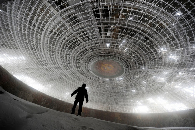 House of the Bulgarian Communist Party - 30 Abandoned Places that Look Truly Beautiful