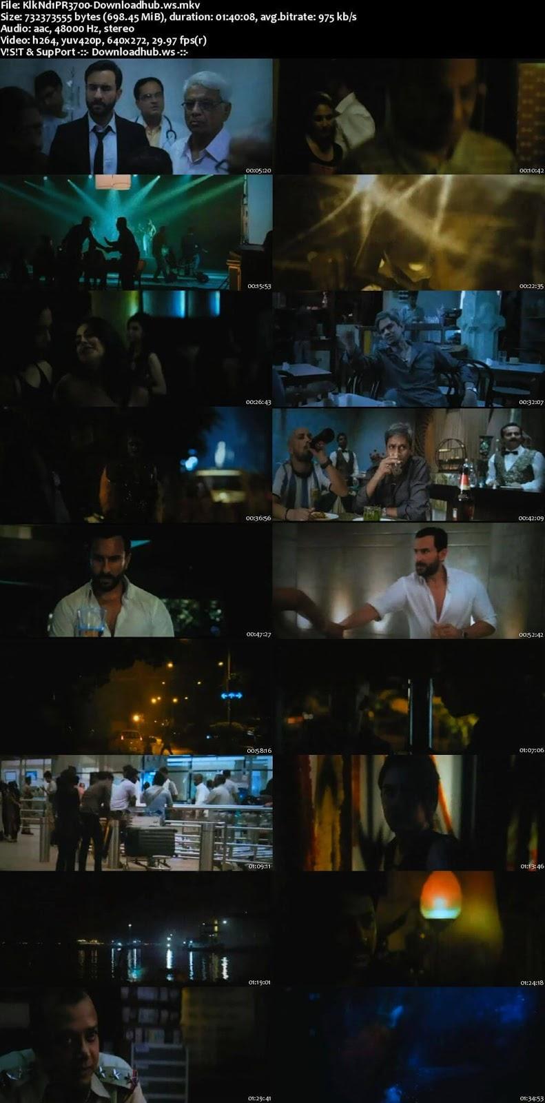 Kaalakaandi 2018 Hindi 700MB Pre-DVDRip x264