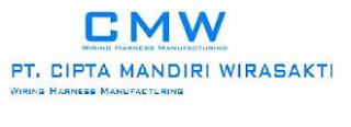 Info Lowongan Kerja SMK Terbaru di PT Cipta Mandiri Wirasakti (CMW)