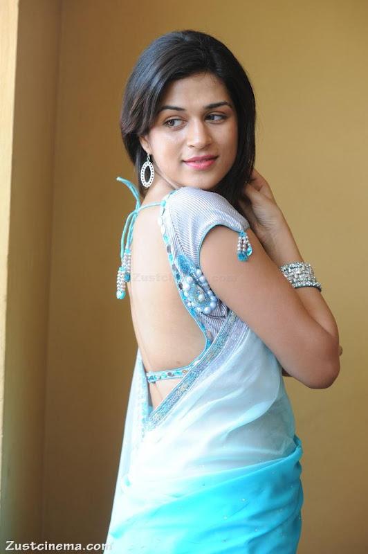 Shraddha Das looks beautiful in saree