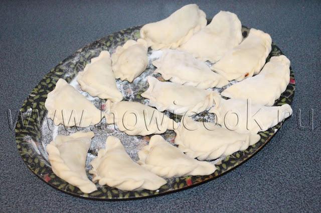 рецепт вареников с квашеной капустой с пошаговыми фото
