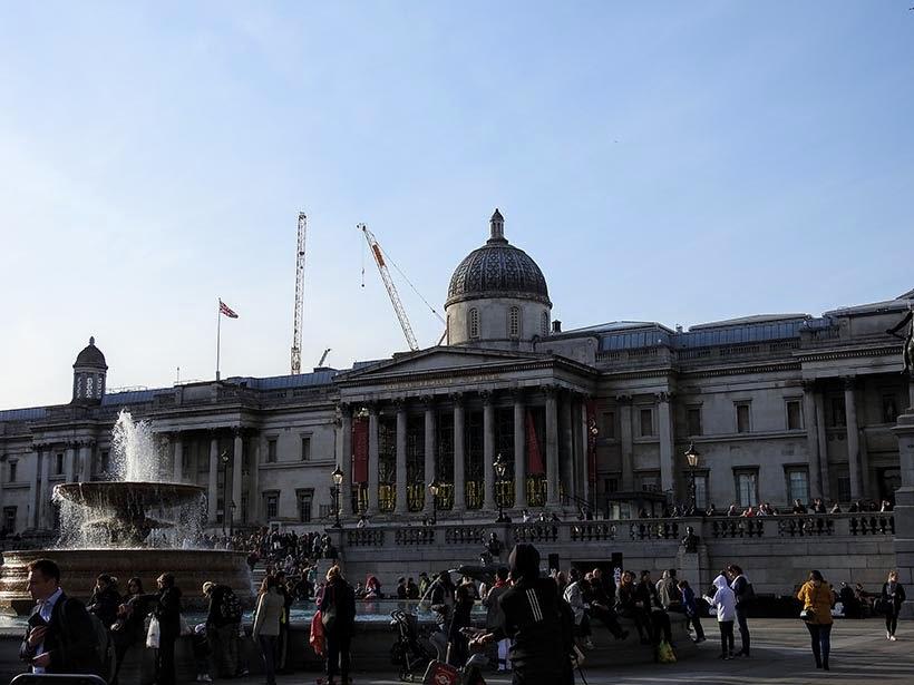 Trafalgar Square - Diário de bordo - 5 dias em Londres
