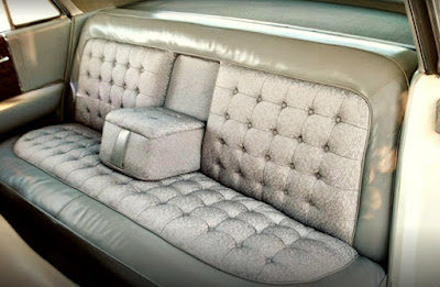 1962 Cadillac Fleetwood Sixty Seat Rear