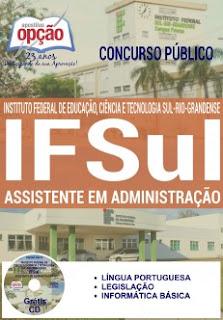 Apostila concurso IFSul RS 2016