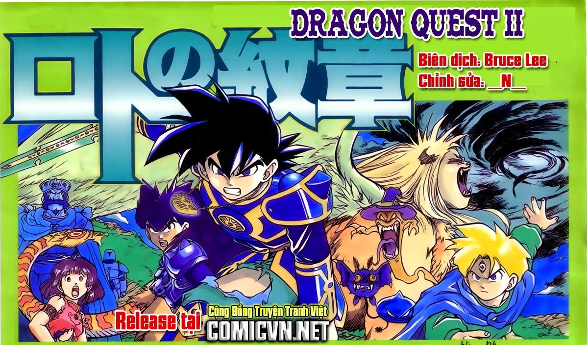 Dragon Quest: Emblem of Roto chap 39 trang 1