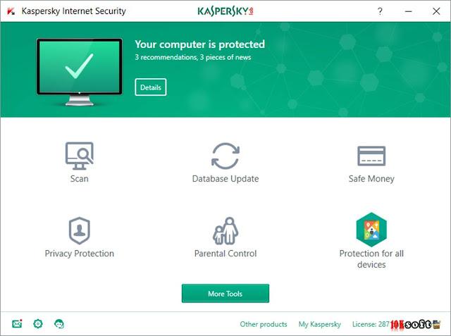 Kaspersky Internet Security 2017 Latest Version Free Download