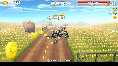 """Game Android """"Rush Star – Bike Adventure"""""""