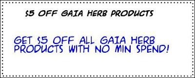 iHerb Coupon GAIA Herbs