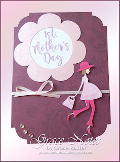 1st. Mother's Day card front. Designed by Grace Baxter
