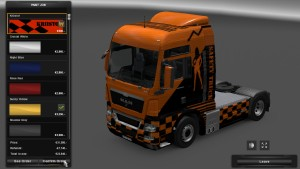 Safety Skin for MAN TGX [Updated]