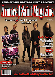 "Το dvd των Armored Saint -""Lessons Not Well Learned"""