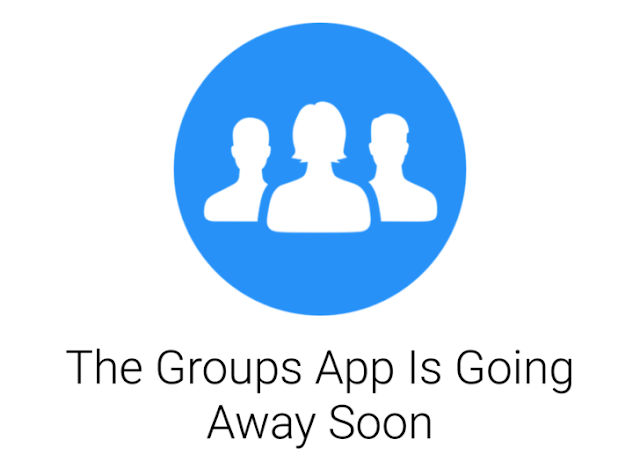 Facebook Group app shout down