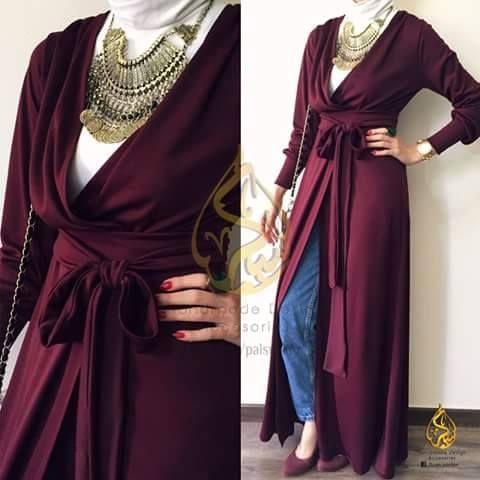 Voici des jolies Idées de Tenue De Hijab Fashion et Tendance