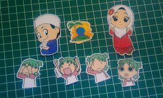 Cetak Stiker Menggunakan Printer Inkjet Biasa, stiker indoor, sticker indoor, print stiker inkjet, vinyl, stiker polyposter