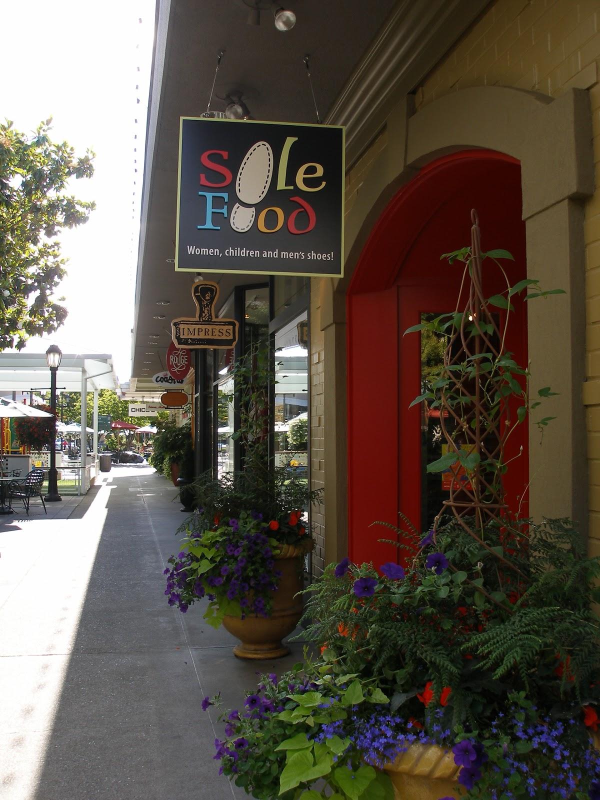 University Village Seattle Shoe Store