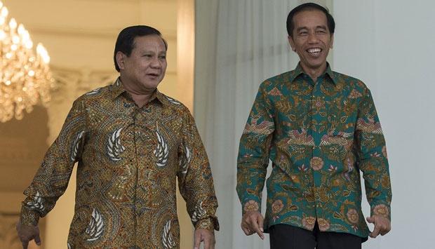 Survei Membuktikan, Elektabilitas Jokowi Terus Naik, Prabowo Turun