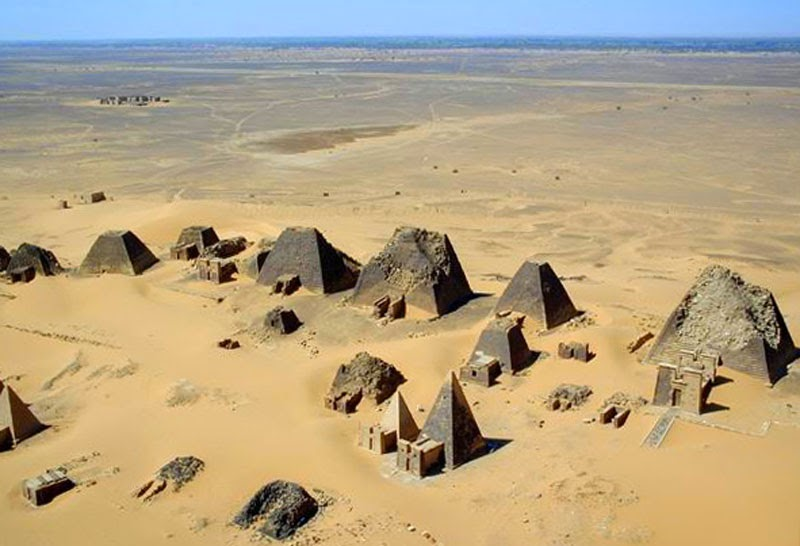 3. Nubia, Sudan - 5 Incredible Pyramids (That Aren't In Egypt!)