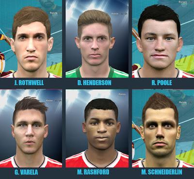 PES 2016 Manchester United Wonderkids