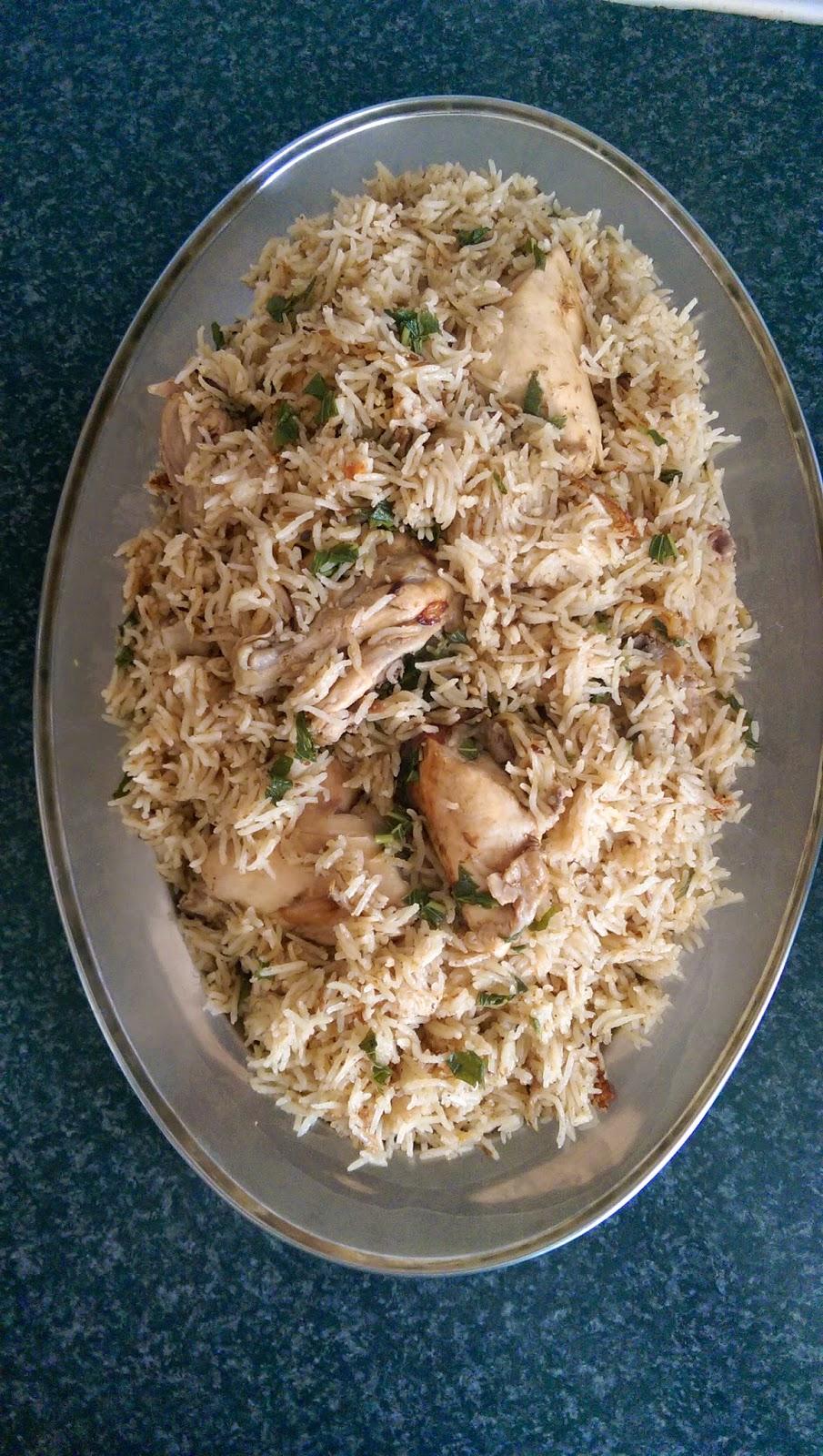 how to make pilau rice pakistani style