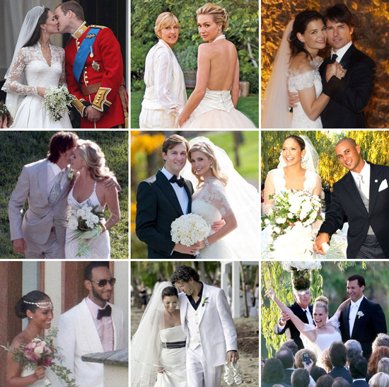 Celebrity Weddings: Top Celebrity Weddings Photos