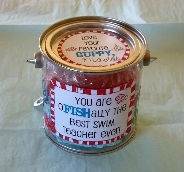 Swim Teacher Gift Idea