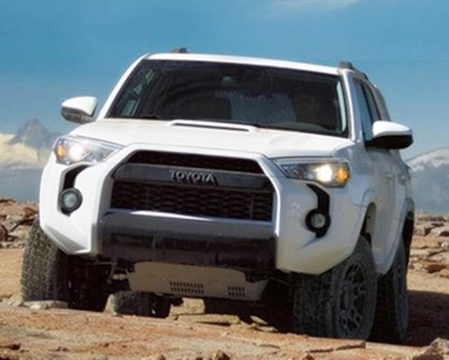 2018 Toyota 4runner Spy Photos